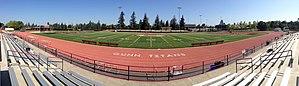 Gunn High School - Image: Gunn High School football field, Palo Alto, California