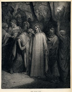 Good Friday - The Judas Kiss by Gustave Doré, 1866