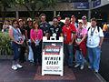 Gustavo Yacaman With Bri Kupfer and IndyCar Champion Members SPGP 25March2012 (14513049079).jpg