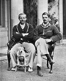 Guy Nickalls and Lord Ampthill sitting photo c1892.jpg