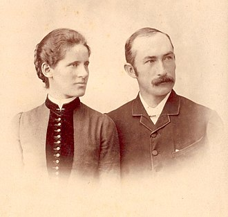 H. B. Higgins - Higgins and his wife Mary (née  Morrison)