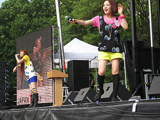 Halcali - Halcali performing in Central Park during Japan Day 2008