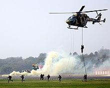 HAL Dhruv and Pinaka Army day.jpg