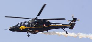 HAL Light Combat Helicopter - LCH TD2