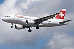 HB-IPY A319 Swiss (14787527695).jpg