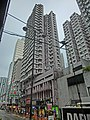 HK Bus 10 tour view 480 King's Road KT 08 昌明洋樓 King's Towers North Point facade Mar-2013.JPG