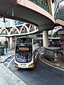HK CWB 銅鑼灣 Causeway Bay 怡和街 Yee Wo Street Ring shape footbridge NWFBus 26 route November 2019 SS2.jpg