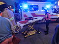 HK Cheung Sha Wan Night Cheung Wah Street Un Chau Street traffic accident Ambulance Nov-2013.JPG