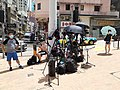 HK SYP 西營盤 Sai Ying Pun 德輔道西 Des Voeux Road West 傳媒 記者 media reporters near Police Station August 2020 SS2 03.jpg