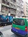 HK SYP 西營盤 Sai Ying Pun 皇后大道西 Queen's Road West green van 郵車 Post Office December 2020 SS2 02.jpg