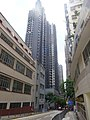 HK Sai Ying Pun 西營盤 第三街 Third Street Aug 2016 聖類斯中小學 St Louis School 廣豐台 Kwong Fung Terrace facades Aug 2016 DSC.jpg