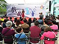 HK WC 灣仔 Wan Chai 香港演藝學院 HKAPA Campus 開放日 Open Day outdoor garden 中國戲曲表演 Chinese Opera song perform by students March 2019 SSG 03.jpg