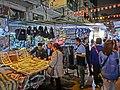 HK Yau Ma Tei 廟衙 夜市 攤販 Temple Street night 01 stall Apr-2013 visitors.JPG