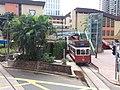 HK tram view CWB 銅鑼灣 Causeway Bay 怡和街 Yee Wo Street Terminus Leighton Road September 2019 SSG 07.jpg