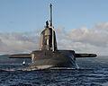 HMS Ambush Arriving at HMNB Clyde MOD 45154437.jpg