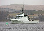 HMS Forth formally gets commissioned into the Royal Navy 13042018 MOD 45164104.jpg