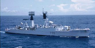 Radar picket - Image: HMS Lincoln. 1972
