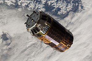 Kounotori 2 - Kounotori 2 approaches the ISS on 27 January 2011