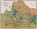 HUA-214042-Plattegrond van de stad Utrecht met weergave van het stratenplan met namen bebouwingsblokken wegen spoorwegen watergangen en groenvoorzieningen Met aa.jpg