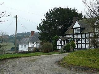 Edgton Human settlement in England