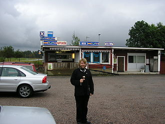 Askersund Municipality - A hamburger bar in Hammar, a village in the northern part of Askersund Municipality.