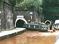 Harecastle Tunnels - North Entrances - geograph.org.uk - 497054.jpg