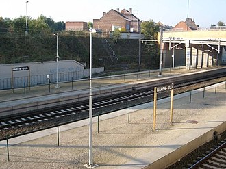 Haren-South railway station - Image: Haren South Station