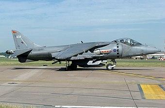 MODEL SEA HARRIER UK BRITISH AEROSPACE HARRIER JUMP JET FRS MARK 1 Fighter Plane