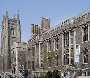 Gothic Revival architecture in Canada - Hart House at the University of Toronto designed by Henry Sproatt