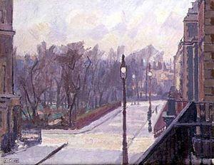 Spencer Gore (artist) - Hartington Square