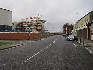 Hartlepool railway station (Hartlepool Dock & Railway)