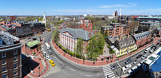 Harvard University - Harvard Yard as seen from Holyoke Center