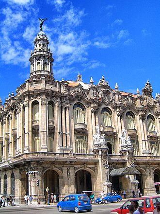 Gran Teatro de La Habana - Image: Havana Theatre