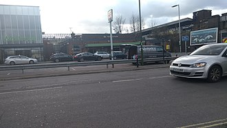 Haywards Heath railway station - Image: Haywards Heath Train Station Feb 18