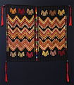 Headcloth, su't, K'iche' Maya, Chichicastenango, mid 20th century, cotton - Textile Museum of Canada - DSC01092.JPG