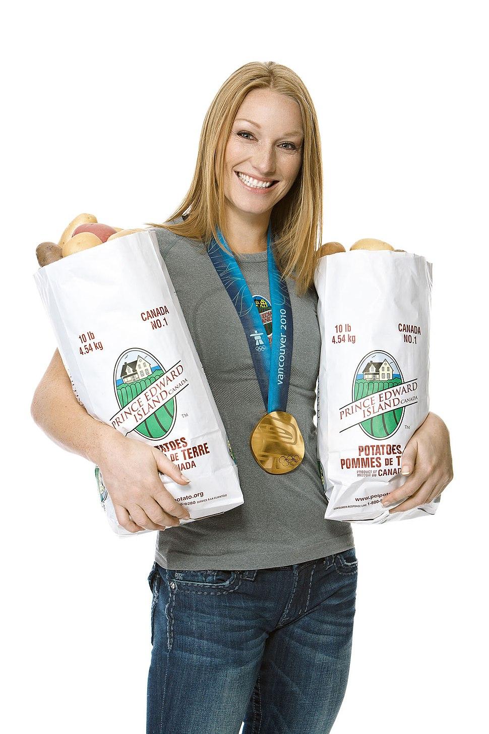 Heather Moyse, PEI Potatoes Brand Ambassador