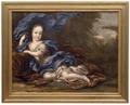 Hedvig Sofia, 1681-1708, prinsessa av Sverige, hertiginna av Holstein-Gottorp - Nationalmuseum - 16082.tif