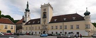 Heiligenkreuz Abbey - Heiligenkreuz Abbey, Main Gate