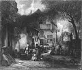 Hendrik Leys - Holländische Dorfgasse - WAF 493 - Bavarian State Painting Collections.jpg