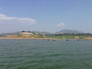 Lingshou County - Hengshanlin Reservoir in Lingshou County.