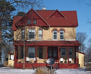National Register of Historic Places listings in Meeker County, Minnesota - Image: Henry Ames House