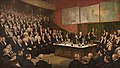 Henry Jamyn Brooks - A Friday Evening Discourse at the Royal Institution; Sir James Dewar on Liquid Hydrogen, 1904.jpg