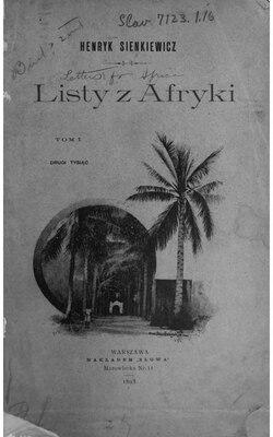 henryk sienkiewicz listy z afryki pdf chomikuj