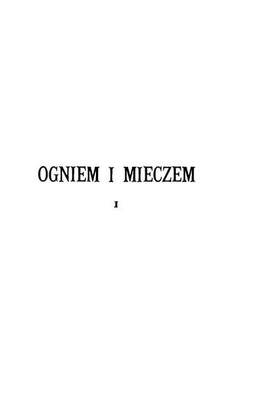 File:Henryk Sienkiewicz-Ogniem i mieczem (1901) t.1.djvu