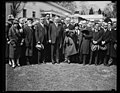Herbert Hoover and group outside White House, Washington, D.C. LCCN2016889236.jpg