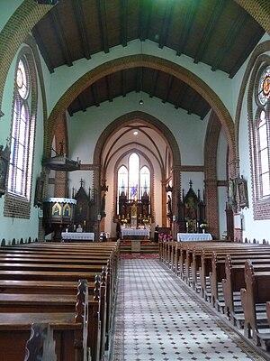 Wąsosz - Saint Joseph Church interior