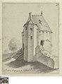 Het poedermagazijn bij de Gentpoort te Brugge, circa 1780 - 1790, Groeningemuseum, 0041304000.jpg