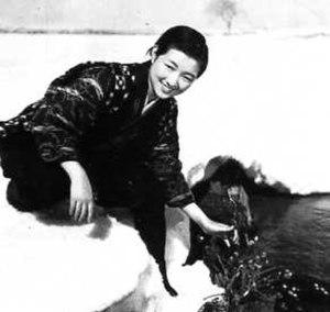 Horse (1941 film) - Hideko Takamine as Ine