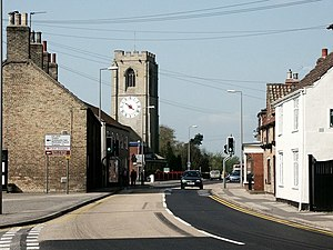Coningsby - Image: High Street, Coningsby geograph.org.uk 429925