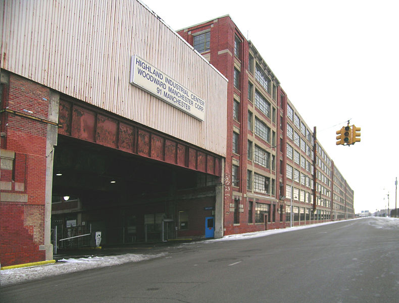 File:Highland Park Ford Plant south side.jpg